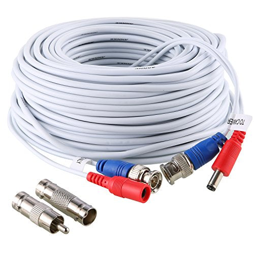 30M 100 Feet Video Power Security Camera Cable
