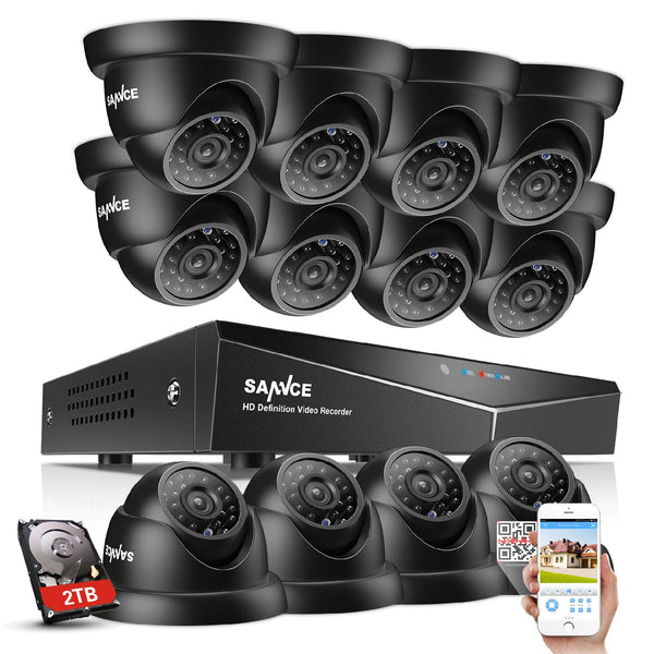 16CH 1080N DVR video surveillance system