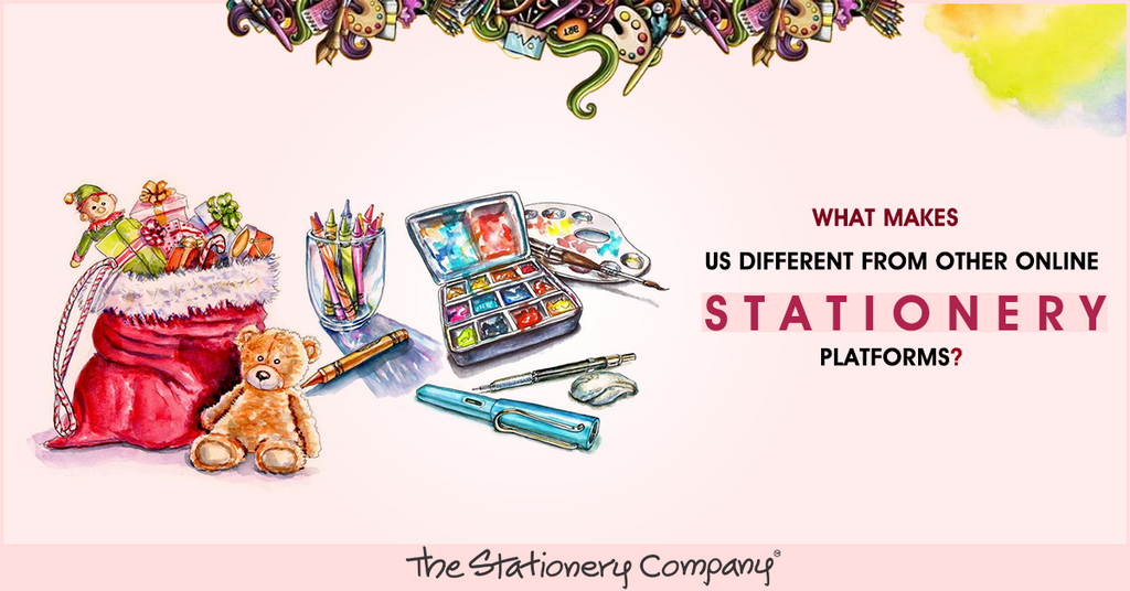 What Makes Us Different from Other Online Stationery Platforms