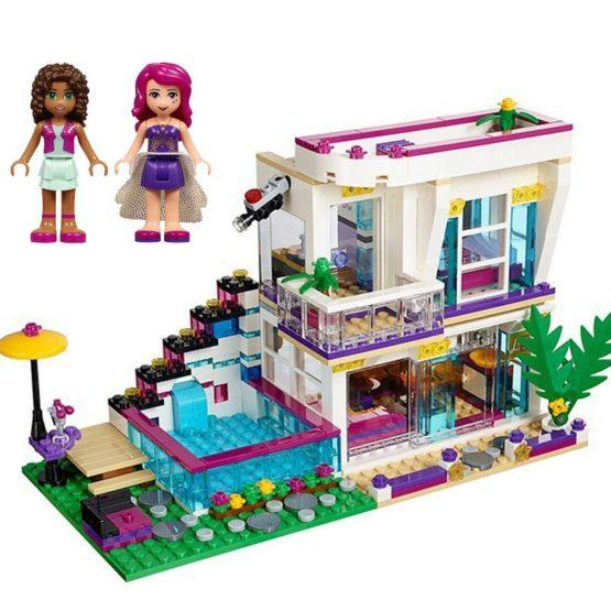 LEPIN Girls Club Livi's Pop Star House Building Blocks Set - thestationerycompany.pk