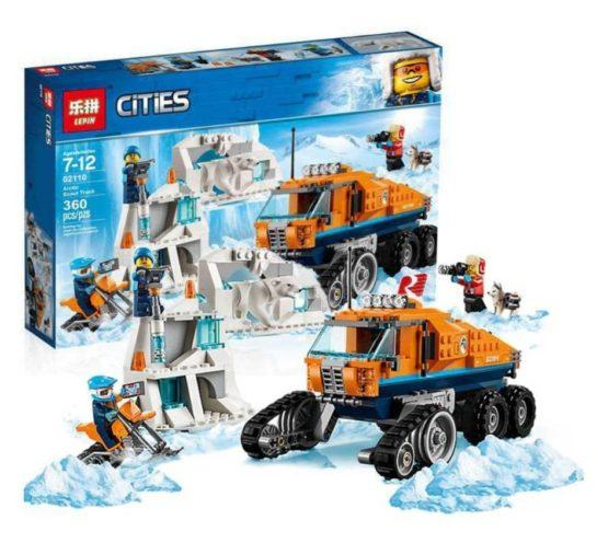 LEPIN City Series Arctic Scout Truck - thestationerycompany.pk