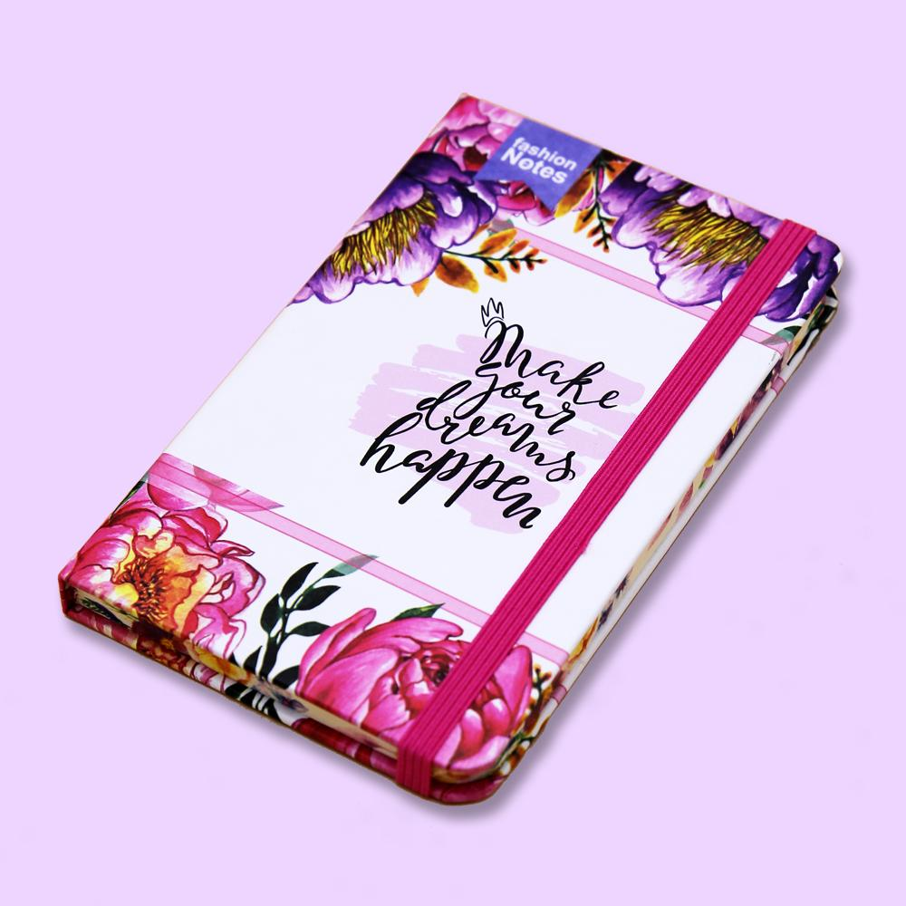 Make Your Dreams Happen Journal Notebook - thestationerycompany.pk