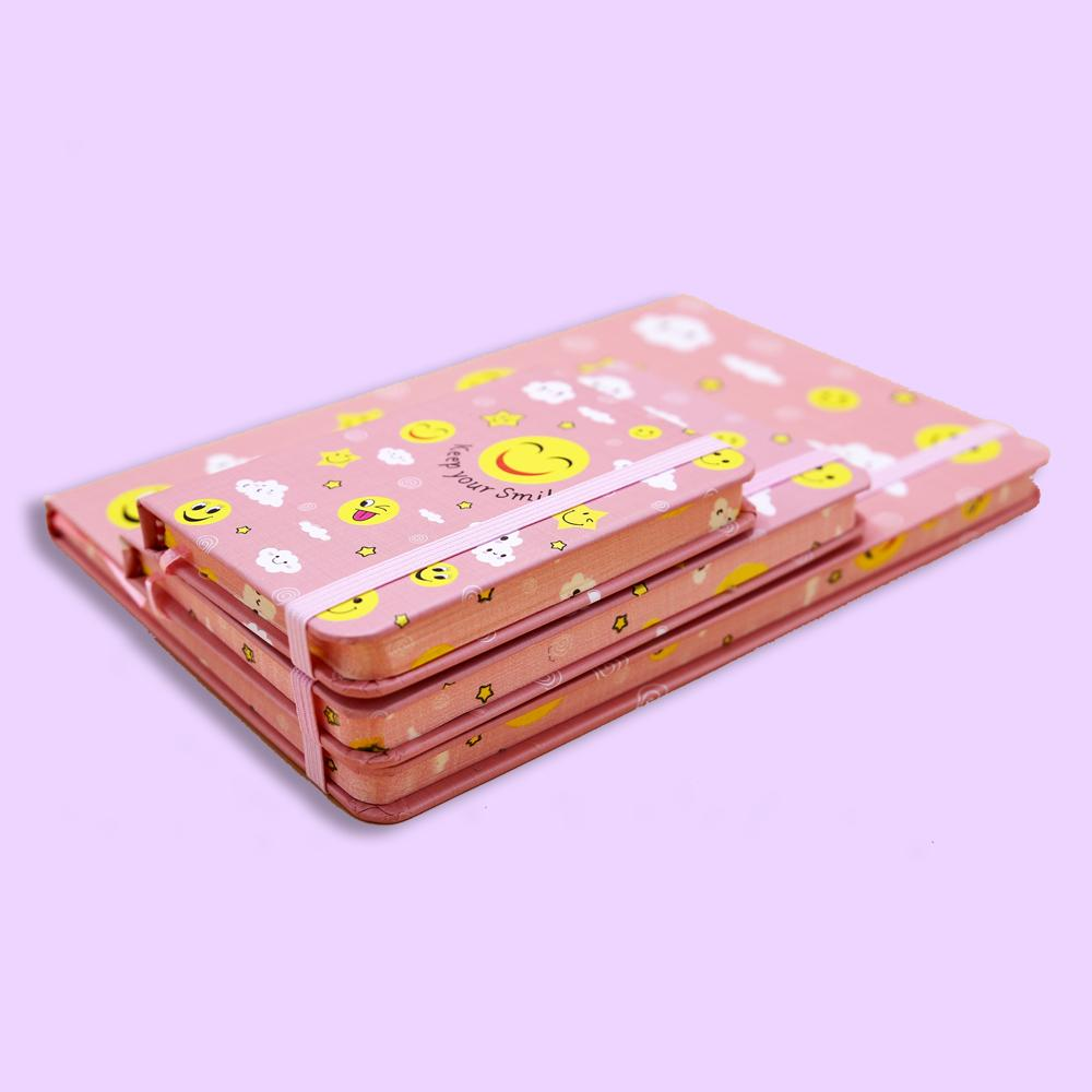 Keep your Smile Journal Notebook Pink - thestationerycompany.pk