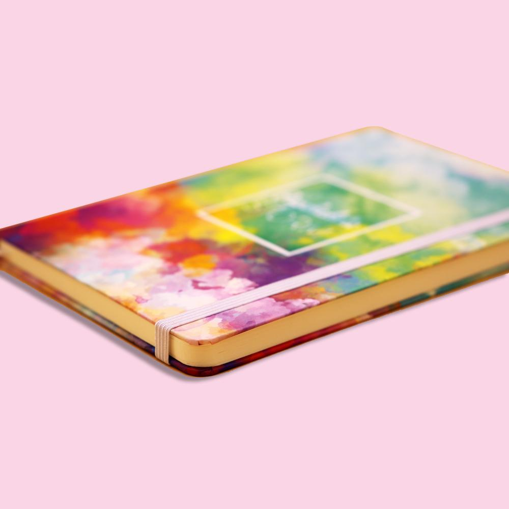 KAIRUI Psychedelic Storm Hard Cover Journal Notebook - thestationerycompany.pk