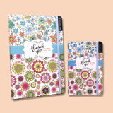 Thank You Journal Notebook White - thestationerycompany.pk