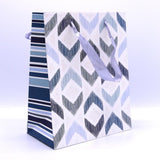 Arrow Design Blue Medium Gift Bag - thestationerycompany.pk