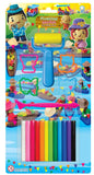 Smile Kids Modelling Clay 12 Colors Set 100g - thestationerycompany.pk
