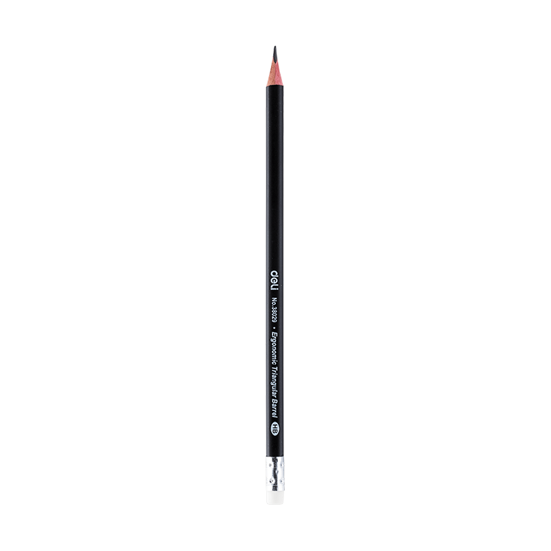 Deli E38029 Graphite Pencil HB With Eraser - thestationerycompany.pk