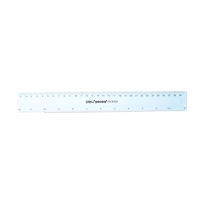 Deli Flexible Ruler 30 cm 6209 24Pcs Box - thestationerycompany.pk