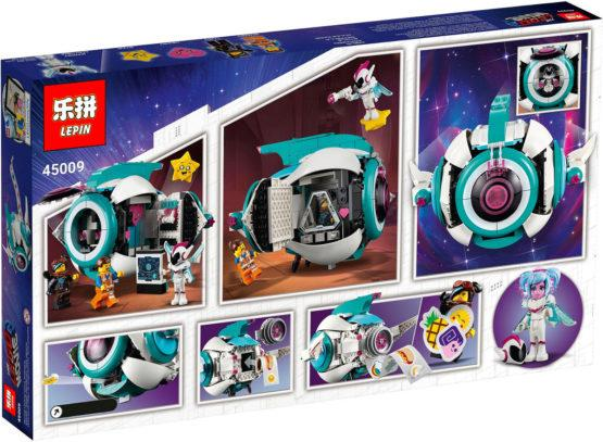 LEPIN Movie Sweet Mayhem Starship Space Ship Set Blocks - thestationerycompany.pk