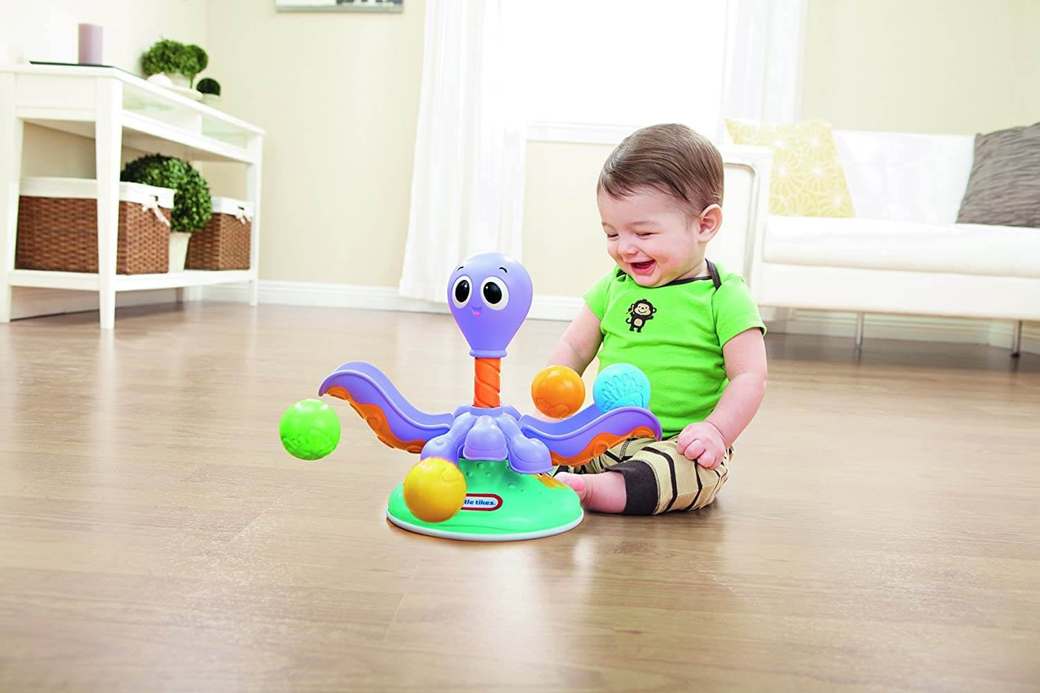 Little Tikes Ball Chase Octopus - thestationerycompany.pk