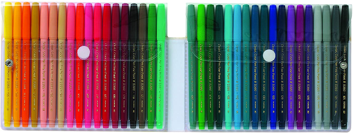 Pental Arts Color Pen Marker Set Of 36 Pieces - thestationerycompany.pk