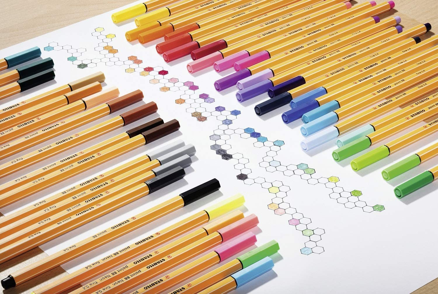 Stabilo Point 88 Fineliner - thestationerycompany.pk