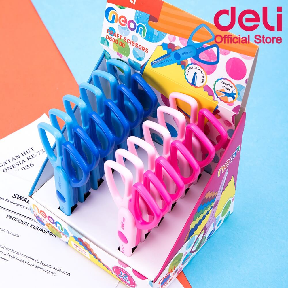 Deli Neon Craft Scissors D60000