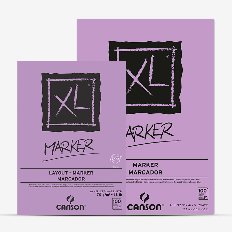 Canson XL Series Marker Paper Drawing Pad