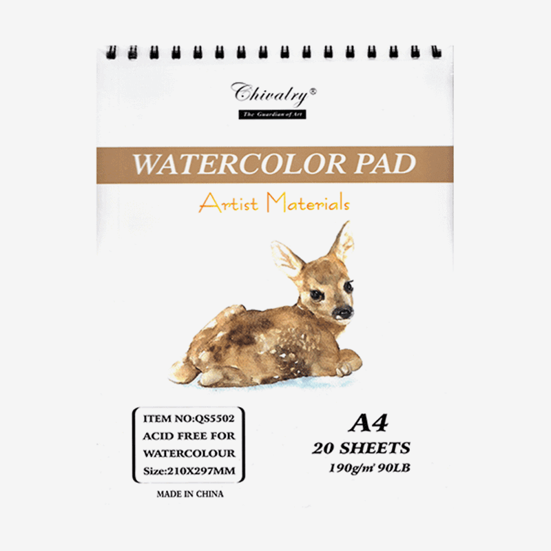 Chivalry Artist's Watercolor Pad