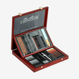 Cretacolor Selection Wooden Case Professional Drawing Set