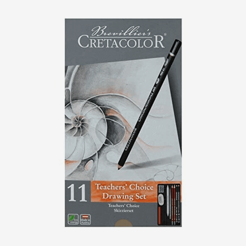 Cretacolor Teachers Choice Drawing Set Of 11 Piece