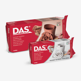 Das Air Dry Modelling Clay White Terracotta Colors - thestationerycompany.pk