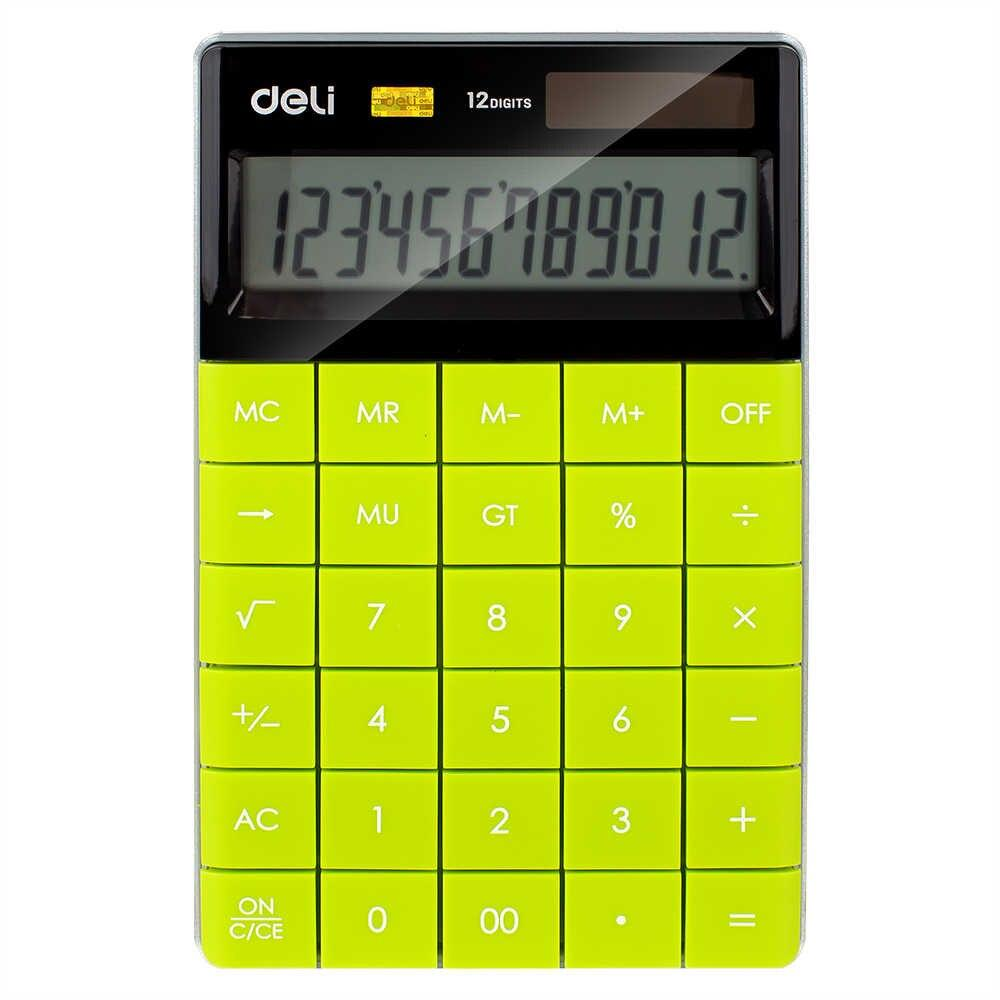 Deli E1589 Modern Soft Calculators 12-digit - thestationerycompany.pk