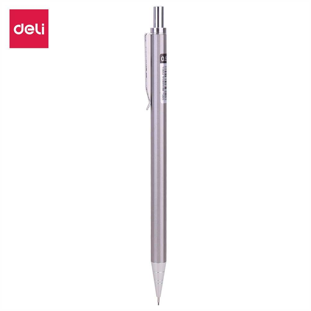 Deli E6490 Metal Mechanical Pencil 0.5mm - thestationerycompany.pk