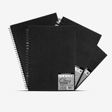 Daler Rowney Ebony Hardback Spiral Sketchbook - thestationerycompany.pk