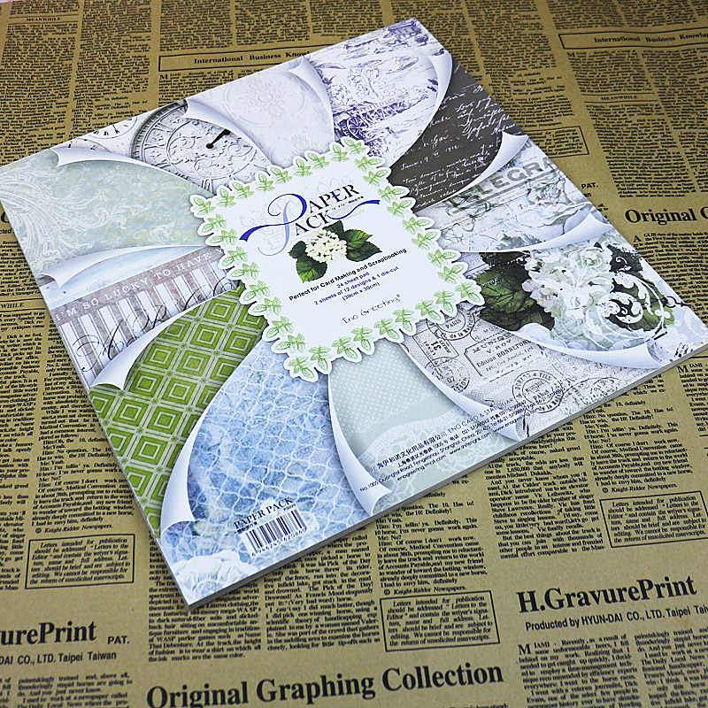 Eno Greeting Design Scrapbook Papers - thestationerycompany.pk