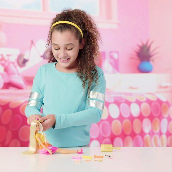 Barbie Ultimate Curls Doll and Playset - thestationerycompany.pk
