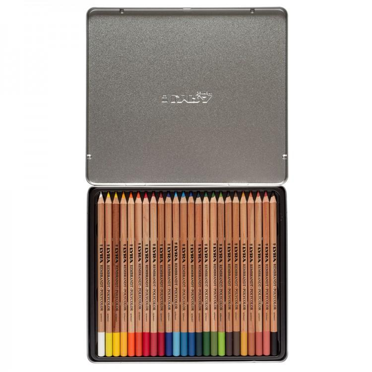 Lyra Rembrandt Polycolor Color Pencils In Metal Box - thestationerycompany.pk