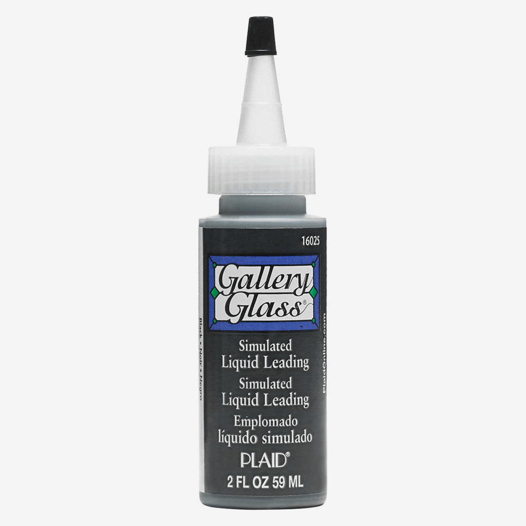 Gallery Glass Liquid Lead 59ml for Creating Outlines on Glass