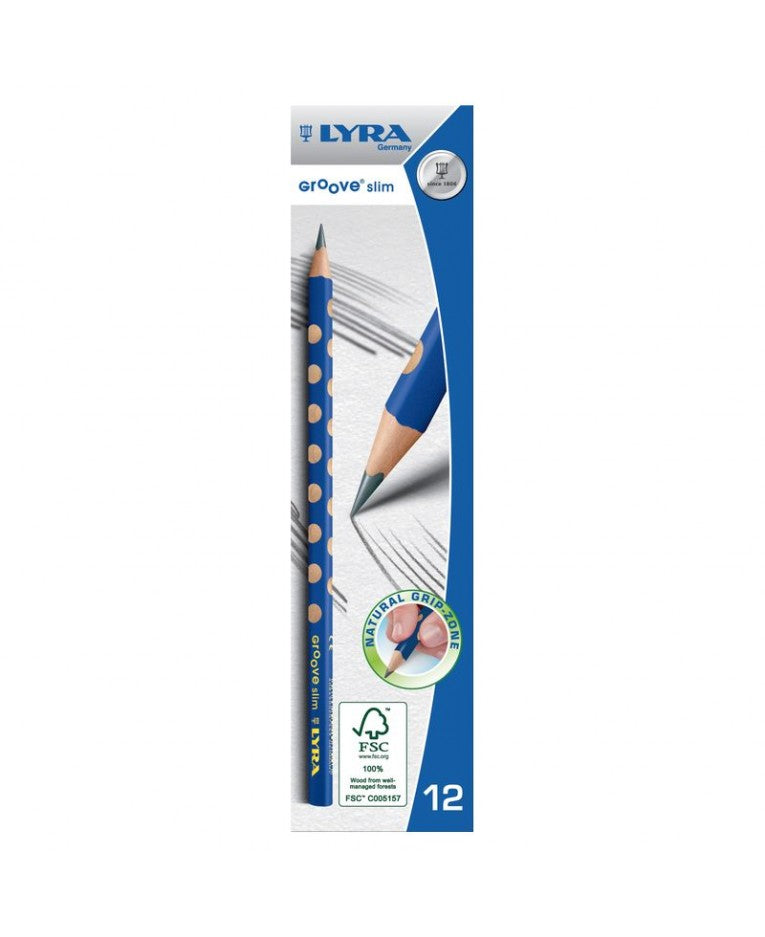 Lyra Slim Groove Hb Lead Pencils - thestationerycompany.pk
