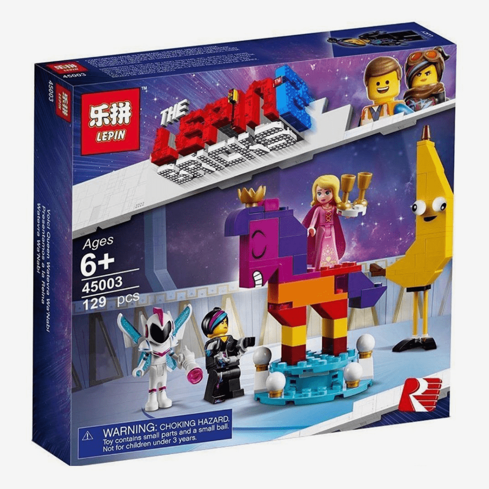 LEPIN Acquaintance With Beautiful Queen Set Blocks - thestationerycompany.pk
