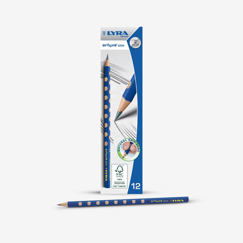Lyra Slim Groove Hb Lead Pencils