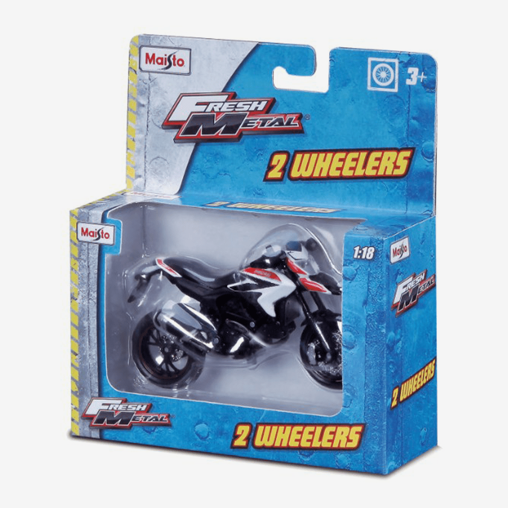 MAISTO 1:18 FM 2-Wheelers Bike - thestationerycompany.pk