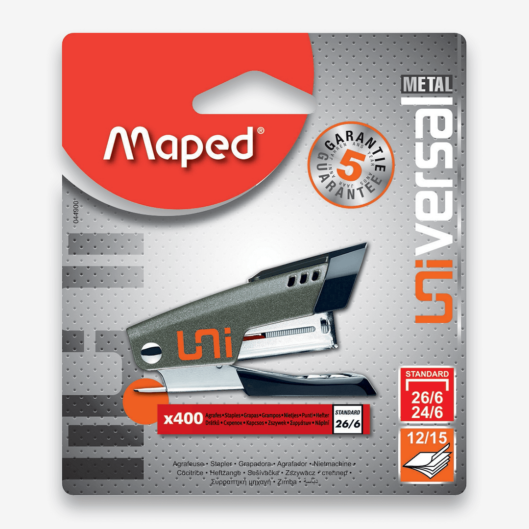 Maped Mini Universal Metal Stapler 24/6