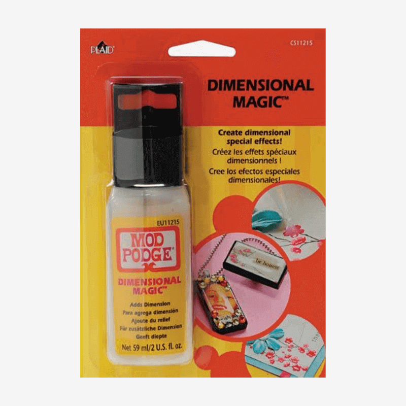 Mod Podge Dimensional Magic Clear 59ml Carded