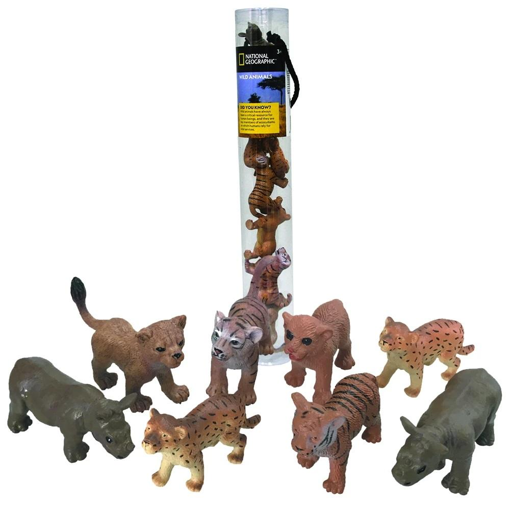 NATIONAL GEOGRAPHIC Wild Animals 8 Pcs - thestationerycompany.pk