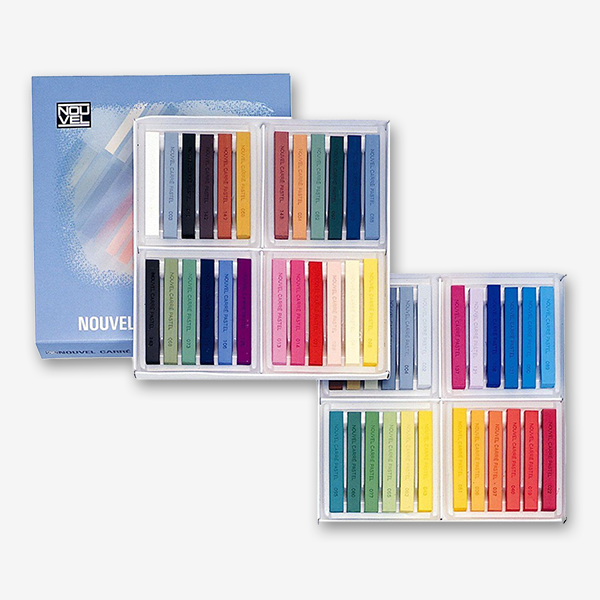 Sakura Nouvel Carre Pastels Colour Set Of 24 - thestationerycompany.pk