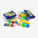 Smile Kids Modelling Clay 12 Colors With 8 Mould Set 130g - thestationerycompany.pk