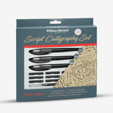 William Mitchell Script Calligraphy Set 17Pcs