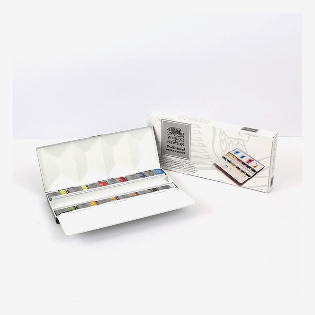 Winsor Newton Professional Watercolor Metal Box - thestationerycompany.pk