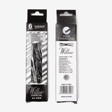 Worison Charcoal Stick Pack of 6 5-6mm
