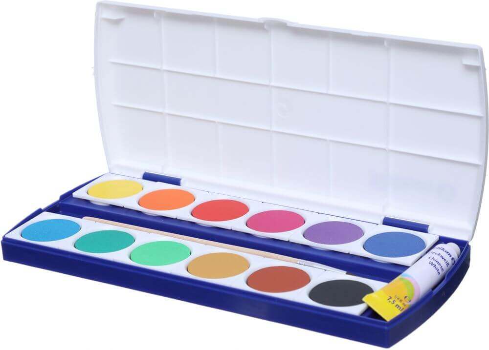 Pelikan Opaque Watercolor Paint Set Of 12