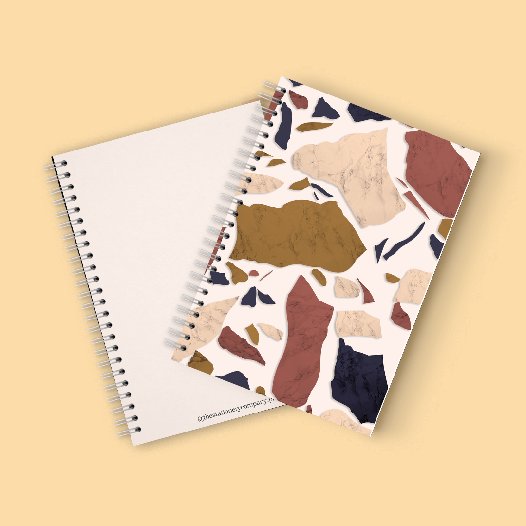 Marble Cover Spiral Notebook