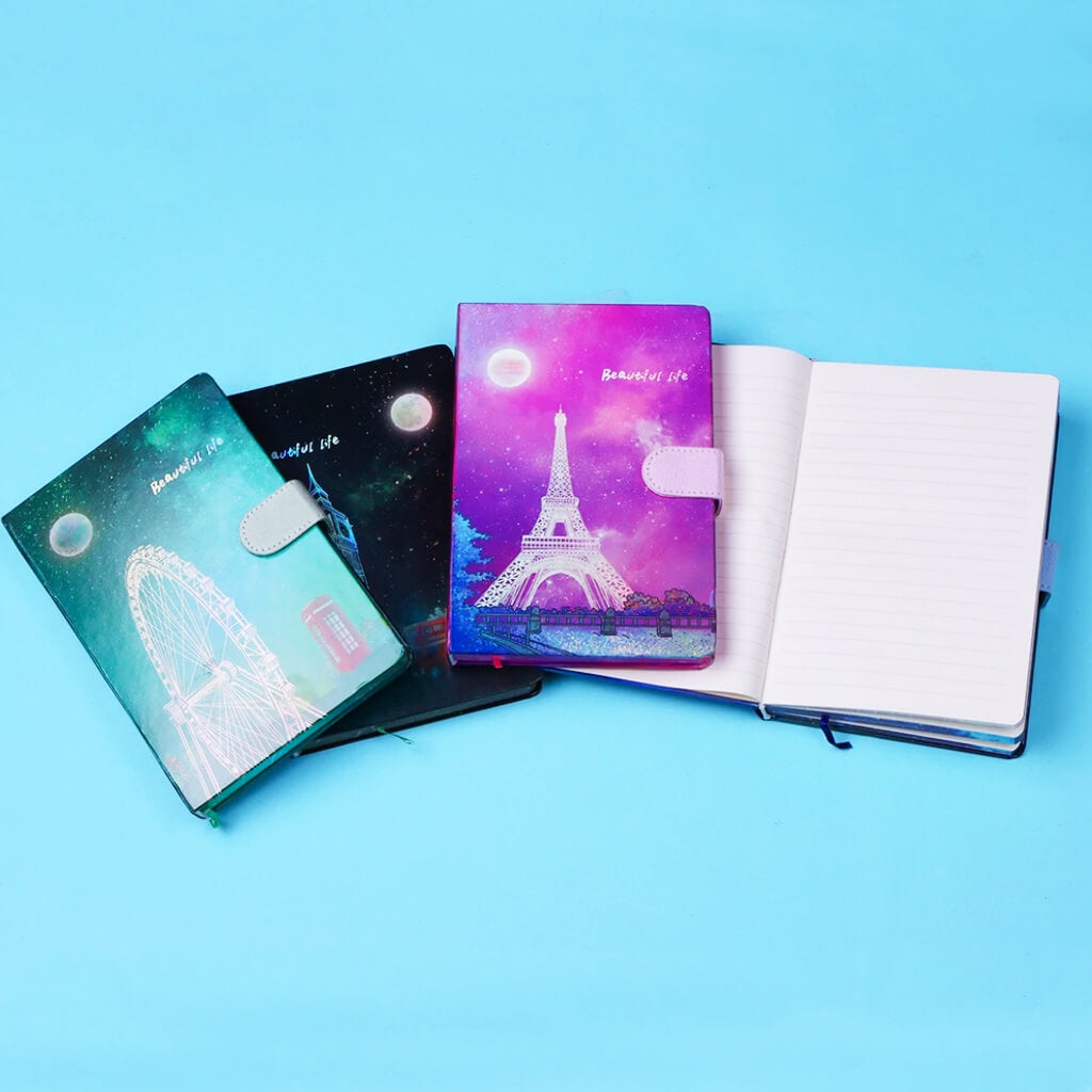 Beautiful Life HoloNeon Journal Notebook