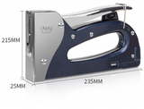 Deli E4600 Heavy Duty Stapler Gun Tacker With Handle Lock - thestationerycompany.pk
