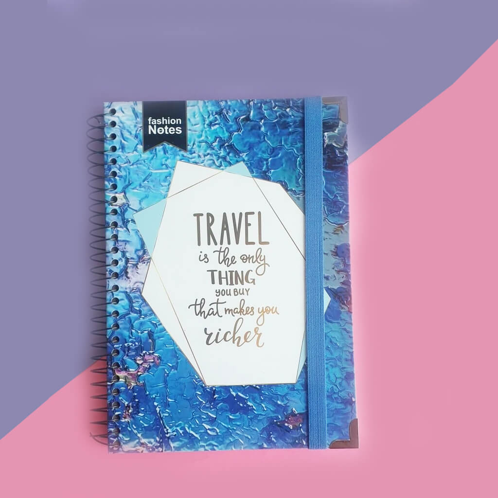 Travel Is The Only Thing That Makes You Richer Spiral Journal Notebook