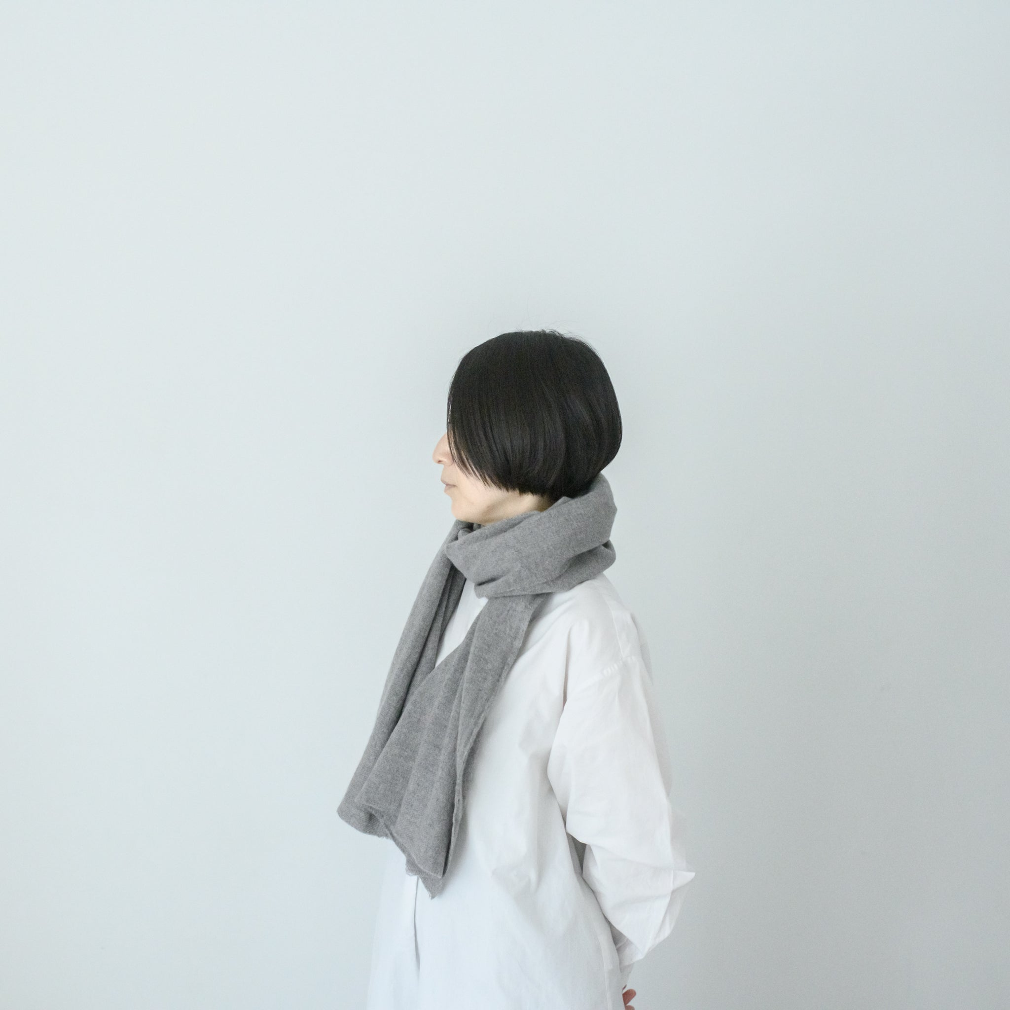 LOCALLY|cashmere short muffler