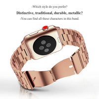 Stainless Steel Strap for Apple Watch Band 38mm 42mm