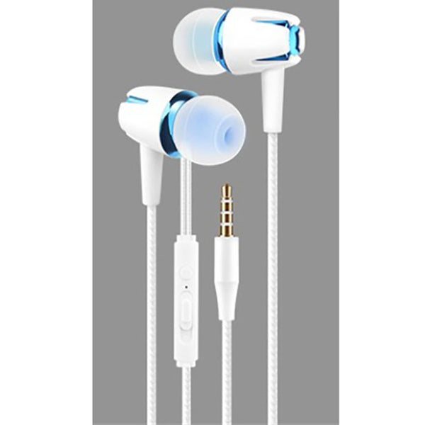 Glowing Headset 3.5mm Plug Wired Earphone with Mic-Smart Product Sales